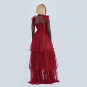 VIVA TIERED DRESS